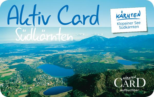 Weiterführende Informationen zur Aktiv Card Südkärnten: card.klopeinersee.at