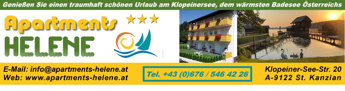 Apartments Helene, Klopeinersee